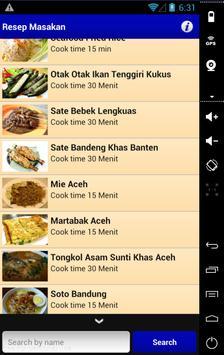 Resep Masakan Komplit screenshot 2