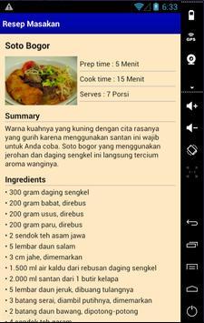 Resep Masakan Komplit screenshot 4