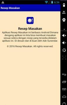 Resep Masakan Komplit screenshot 5
