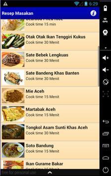 Resep Masakan Komplit screenshot 9