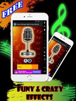 Voice Changer Crazy Effects apk screenshot