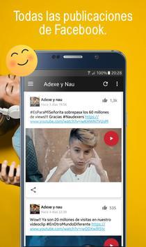 Adexe y Nau, Fan app de los hermanos Adexe & Nau screenshot 4