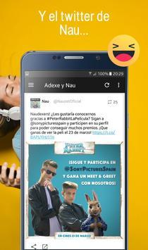 Adexe y Nau, Fan app de los hermanos Adexe & Nau screenshot 7
