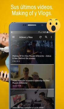 Adexe y Nau, Fan app de los hermanos Adexe & Nau screenshot 1