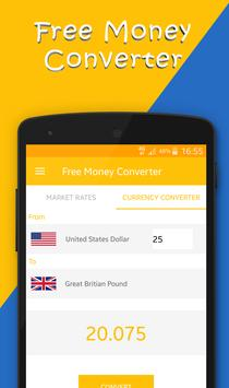 Free Money Converter screenshot 1