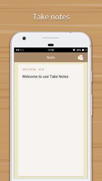 Take Notes apk screenshot