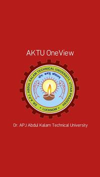 AKTU OneView poster