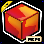 Lucky Block Red For MCPE icon
