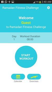 Ramadan Fitness Challenge poster