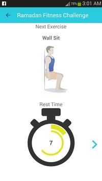 Ramadan Fitness Challenge screenshot 1