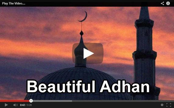 Beautiful Adhan, Azan n Athan apk screenshot