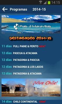 Viajes Chile screenshot 1