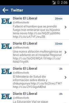 Diario EL LIBERAL S.A. apk screenshot