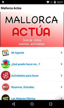 Mallorcactúa. Agenda local poster