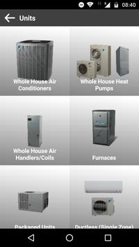 JMS AC and Heating Catalog apk screenshot
