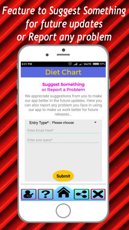 Diet Chart For Weight Loss Weight Gain Gym For Android Apk