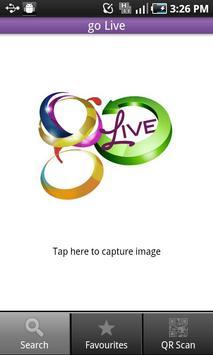 go Live - Visual Search poster