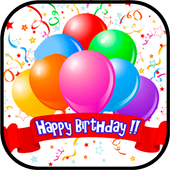 Happy Birthday Greetings 2018 icon