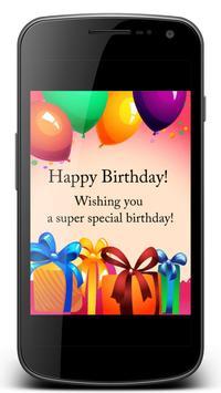 Happy Birthday Greetings 2018 apk screenshot