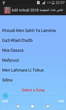 Adil miloudi 2018 اغاني عادل الميلودي screenshot 1