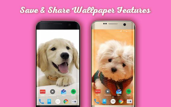 New Cute Little Puppies Wallpapers HD screenshot 1