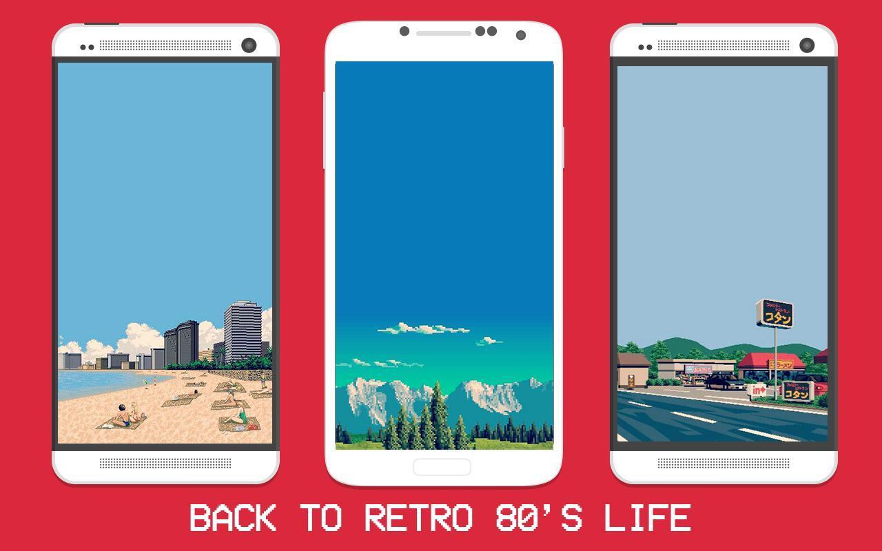 Pixel Art City Wallpapers (Retro 8bit Wallpaper) poster ...