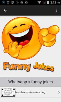whats funny joke image quote apk screenshot