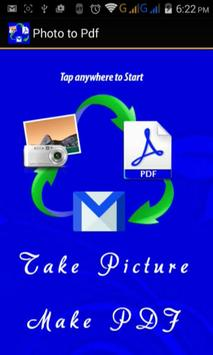 Scan Photo to Pdf Maker Free poster