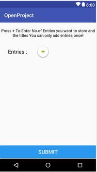 Data Entry screenshot 1