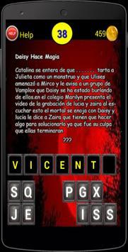Adivinar de Chica Vampirtour apk screenshot