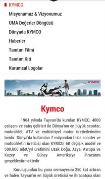 Kymco Türkiye screenshot 1