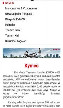 Kymco Türkiye apk screenshot