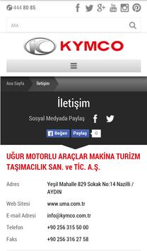 Kymco Türkiye screenshot 3