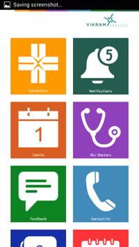 Vikram Hospitals poster