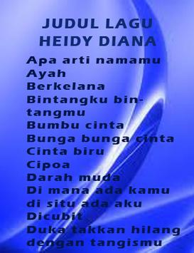 Kumpulan Heidy Diana Terlaris poster