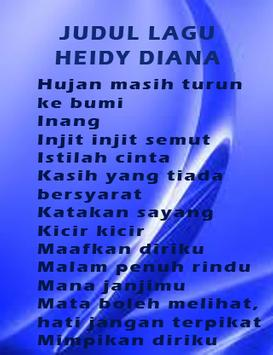 Kumpulan Heidy Diana Terlaris apk screenshot