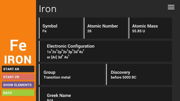 Periodic table arvr apk download free education app for android periodic table arvr apk screenshot urtaz Image collections
