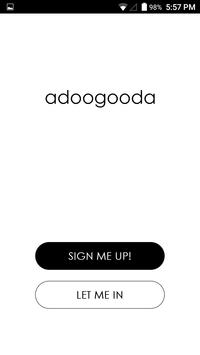 adoogooda - 1st Social GOOD commUNITY app screenshot 1