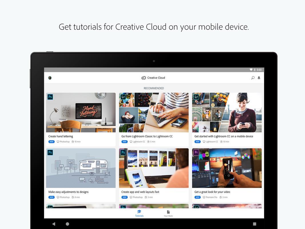 Adobe Creative Cloud APK Download