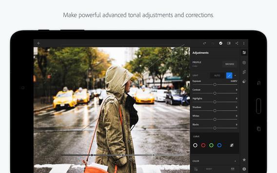 Adobe Photoshop Lightroom CC apk screenshot