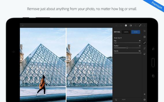 Adobe Photoshop Lightroom CC captura de pantalla de la apk