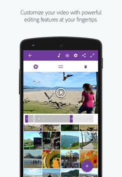Adobe Premiere Clip screenshot 1