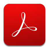 Adobe Acrobat Reader иконка