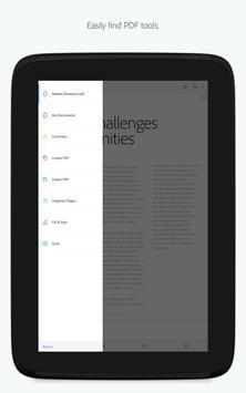 Adobe Acrobat Reader скриншот приложения