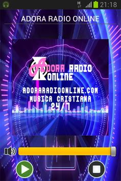 ADORA RADIO ONLINE poster