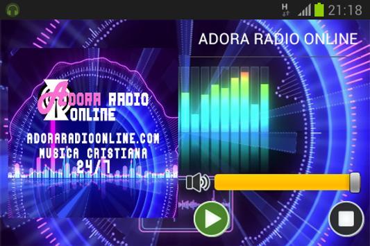 ADORA RADIO ONLINE screenshot 1
