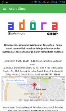 Adora Shop apk screenshot