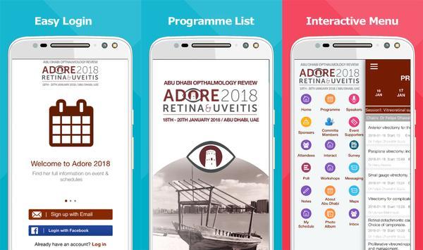 Adore Conference screenshot 1