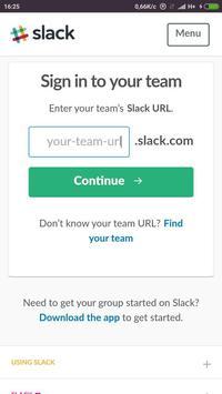 Slack Contacts poster