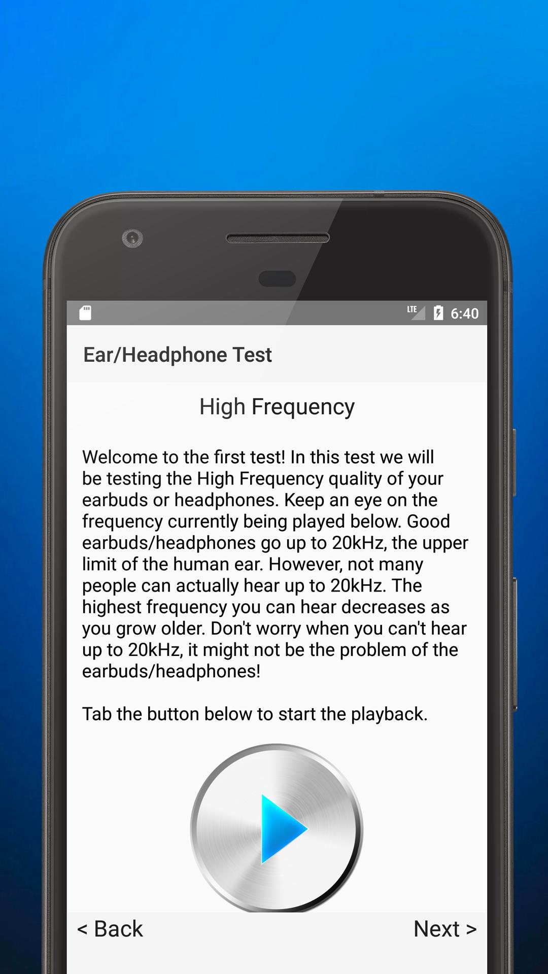 Ultimate Ear/Headphone Test for Android - APK Download